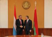 Глава МИД Люксембурга впервые прибыл в Минск