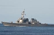 СМИ показали фото прохода американского эсминца в Черное море