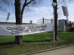 Растяжку «Свободу политзаключенным» вывесили под носом у Лукашенко