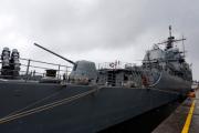 Ракетный крейсер «Велла Галф» ВМС США покинул Черное море
