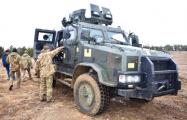 В Украине прошел испытания бронеавтомобиль «Казак-2»
