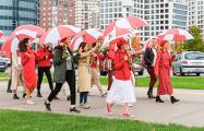 В Минске женщины устроили акцию «Я гуляю»
