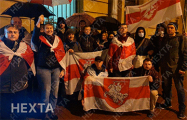 Белорусы Санкт-Петербурга вышли на традиционную акцию протеста