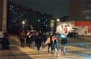 Вечернее шествие проходит в Сухарево