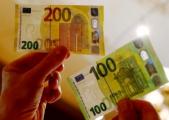 Новые банкноты в 100 и 200 евро вводят в обращение в ЕС