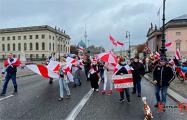 В Берлине прошел Марш в поддержку белорусов