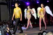 В Китае показали золотой лифчик