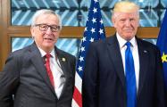 Трамп принимает главу Еврокомиссии