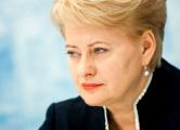 Грибаускайте в Киеве вручат премию «Человек года»