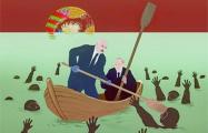 «Мест в лодке не хватит»: синепалый топит свой ОМОН в болоте