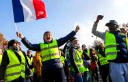 «Желтые жилеты» в годовщину движения заблокировали кольцевую в Париже