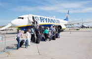 Белорусы смогут воспользоваться услугами лоукостера Ryanair из Борисполя