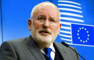 Тиммерманс будет баллотироваться на пост президента Еврокомиссии