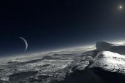 Станция New Horizons сняла затмение Солнца Плутоном