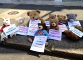 Free Belarus Now инициировали акцию у белорусского посольства в Лондоне
