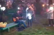 Видеофакт: Вечерние посиделки в Новополоцке