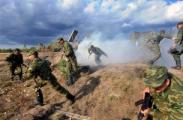 Армейская тренировка вошла в активную фазу