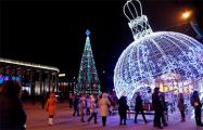 Видеофакт: Предновогодний Минск с высоты