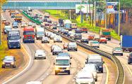 Проезд по МКАД для грузовиков хотят сделать платным