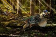 Ученые нашли крупнейшего пернатого и крылатого динозавра