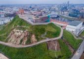 Состояние горы Гедиминаса вызвало обеспокоенность президента Литвы