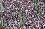 Видеофакт: За полтора часа Марша колонна не переставала двигаться