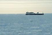 У Атлантического побережья Канады во льдах застрял пассажирский паром