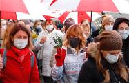 «Мужество и стойкость белорусской женщины потрясли весь мир»