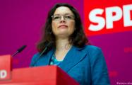 Андреа Налес станет первой женщиной-главой немецких социал-демократов