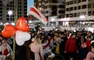 Как белорусы по всей стране каждый вечер выходят на улицы