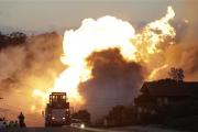 В Калифорнии при взрыве газопровода у шоссе ранены 15 человек