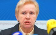 Глава ЦИК Беларуси Лидия Ермошина боится бойкота «выборов»