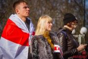 День Воли отметили в Минске 24 марта