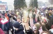 Новосибирск вышел в поддержку Алексея Навального