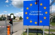 Литва организовала для белорусов гуманитарный коридор на границе