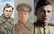 Как выглядят военные фото белорусских писателей в цвете