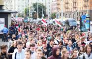На марше студентов уже несколько тысяч человек