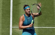 US Open: Соболенко в упорной борьбе уступила Оскае