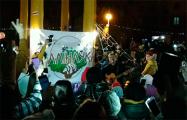 В протестной Малиновке выступил Пит Павлов, возле ТЦ «Рига» — «Мутнае вока»