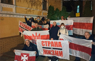 Белорусы Санкт-Петербурга, Москвы и Киева вышли в поддержку соотечественников