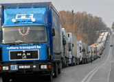 В «Каменном Логе» очередь из 600 грузовиков