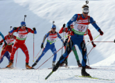 Белорусы заняли 12-е место в эстафете на этапе Кубка мира по биатлону