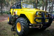 В Гродненской области собрали очередной джип-монстр по прозвищу «Малыш»