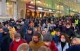 На митинге в поддержку Навального в Москве скандировали «Жыве Беларусь!»