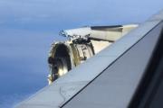 У пассажирского А380 в полете разрушилась обшивка двигателя