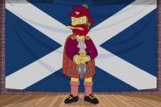 Садовник из «Симпсонов» поддержал независимость Шотландии