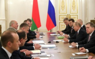Началась встреча Лукашенко и Путина