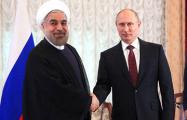 Путин встретился с Роухани на полях Каспийского саммита