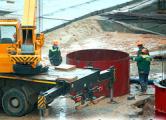 Рабочие на стройке Островецкой АЭС грозят забастовкой