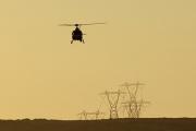 Мексиканский военный вертолет обстрелял территорию США